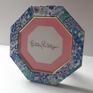 Lilly Pulitzer Octagon Picture Frame Floral